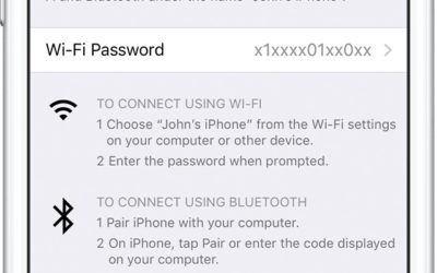 How to set up a Personal Hotspot on your iPhone or iPad
